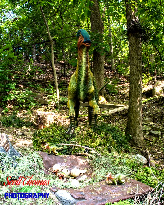 Parasaurolophus Nest