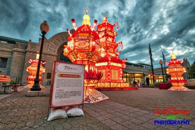 New York State Chinese Lantern Festival Palace Lantern