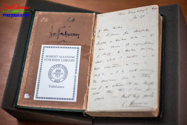 Charles Darwin Written Note