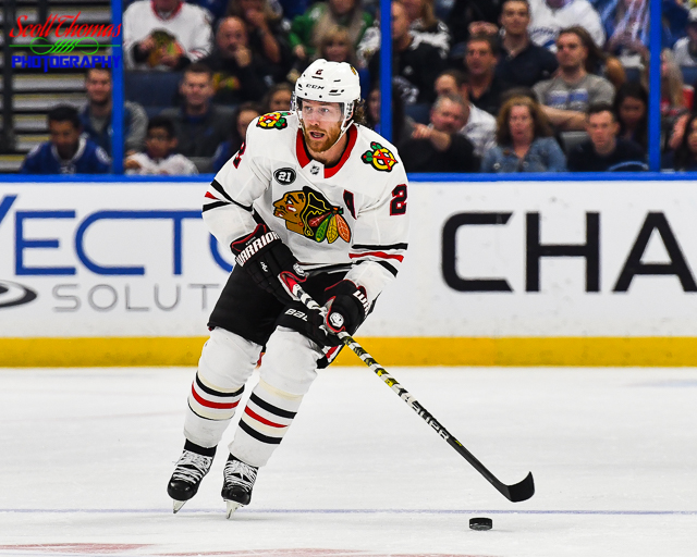 Defensemen Duncan Keith