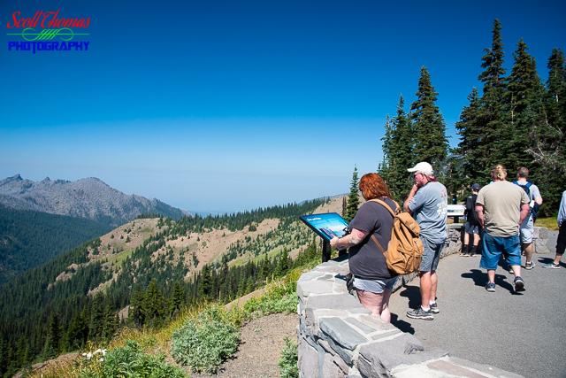 Cirque Rim Trail Overlook