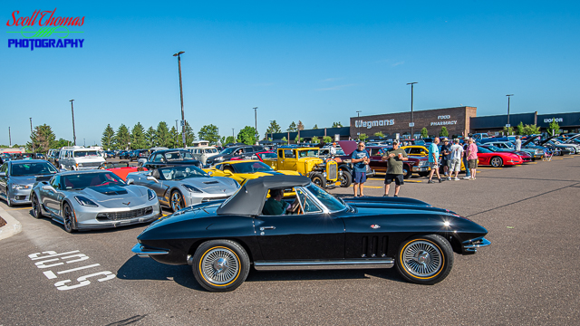 Rt. 31 Cars and Coffee hosted by Wegmans of Clay, New York