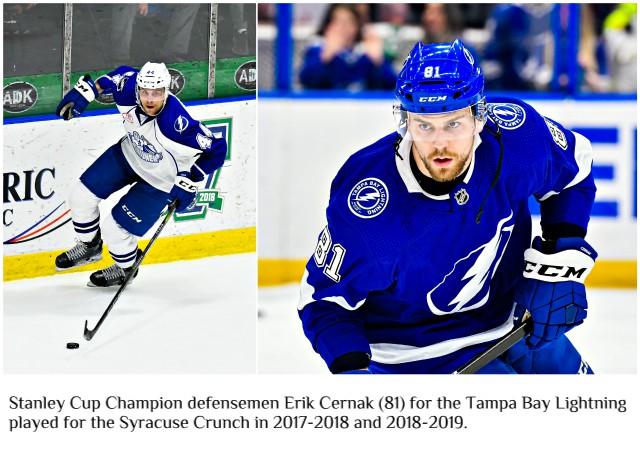 Stanley Cup Champion Erik Cernak