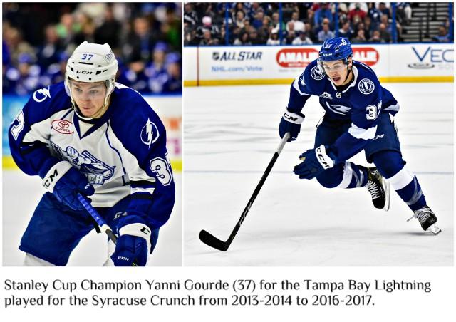 Stanley Cup Champion Yanni Gourde