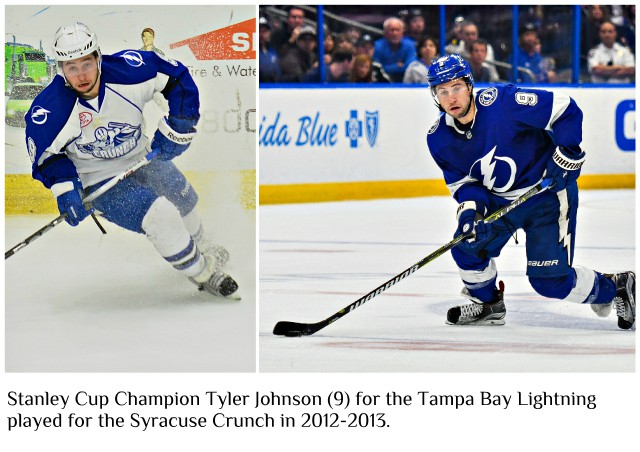 Stanley Cup Champion Tyler Johnson