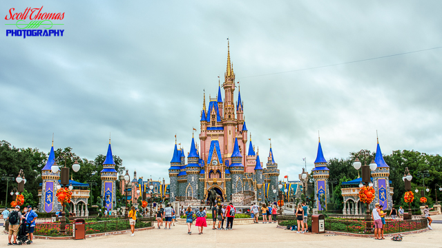 50th Anniversary Cinderella Castle