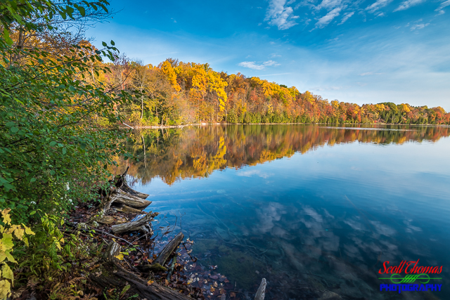 Autumn at Green Lakes State Park